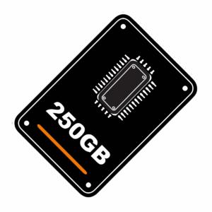 250ГБ